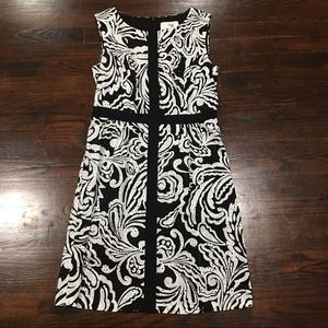 Anthropologie Tabitha lace overlay dress size 6